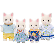 Buy Sylvanian Families Silk Cat Family Online at johnlewis.com