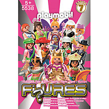 Buy Playmobil Pink Series 7 Figures, Assorted Online at johnlewis.com