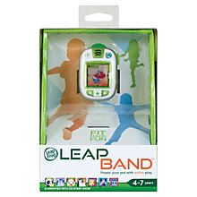 Buy LeapFrog LeapBand, Green Online at johnlewis.com