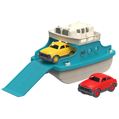 Buy Green Toys Ferry Boat with Cars Online at johnlewis.com