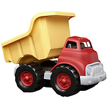 Buy Green Toys Dumper Truck, Red/Yellow Online at johnlewis.com