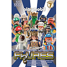 Buy Playmobil Blue Series 7 Figures, Assorted Online at johnlewis.com