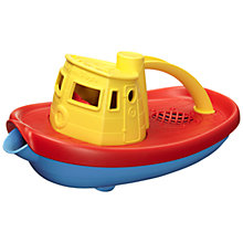Buy Green Toys Tugboat, Yellow Online at johnlewis.com