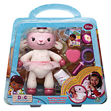 Buy Disney Doc McStuffins Spotty Lambie Playset Online at johnlewis.com