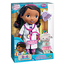 Buy Disney Doc McStuffins Singing Doc Doll Online at johnlewis.com