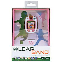 Buy LeapFrog LeapBand, Pink Online at johnlewis.com