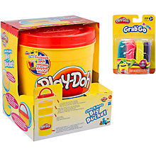 Buy John Lewis Exclusive Play-Doh Create N' Store Big Bucket Storage Set Online at johnlewis.com
