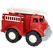 Buy Green Toys Fire Truck, Red Online at johnlewis.com