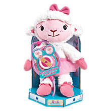 Buy Disney Doc McStuffins Hearts A Glow Soft Toy, Assorted Online at johnlewis.com