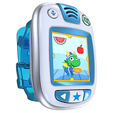 Buy LeapFrog LeapBand Active Play Watch, Blue Online at johnlewis.com