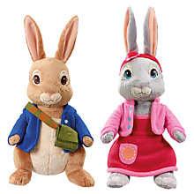 Buy Peter Rabbit Talking Plush, Assorted Online at johnlewis.com