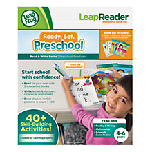 Buy LeapFrog Ready, Set, Preschool LeapReader Online at johnlewis.com