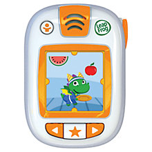 Buy LeapFrog LeapBand Active Play Watch, Orange Online at johnlewis.com