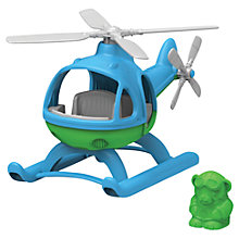 Buy Green Toys Helicopter & Pilot Online at johnlewis.com