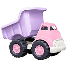 Buy Green Toys Dumper Truck, Pink/Purple Online at johnlewis.com