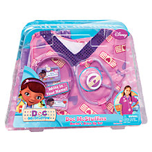 Buy Doc McStuffins Doctor Scrubs Dress-Up Outfit, Pink Online at johnlewis.com