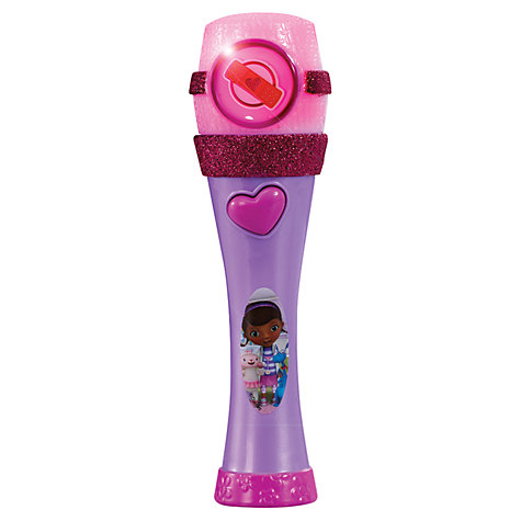 Buy Disney Doc McStuffins Musical Light Up Mic Online at johnlewis.com