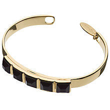 Buy Boutique by Lola Henriette Malachite Bracelet, Gold / Black Online at johnlewis.com