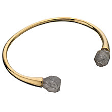 Buy Lola Rose Pomona Black Rutilated Quartz Bracelet, Gold/ Black Online at johnlewis.com