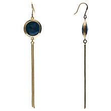 Buy Boutique by Lola Arlington Quartzite Drop Earrings, Gold/Blue Online at johnlewis.com