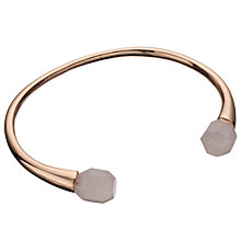 Buy Lola Rose Pomona Rose Quartz Bracelet, Rose Gold/ Pink Online at johnlewis.com