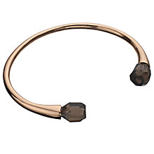 Buy Lola Rose Pomona Obsidian Bracelet, Rose Gold/ Black Online at johnlewis.com