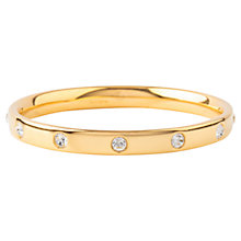 Buy Susan Caplan Vintage 1970s Monet Gold Plated Swarovski Crystal Solid Bangle Online at johnlewis.com