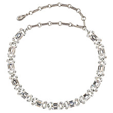 Buy Susan Caplan Vintage 1960s Lisner Elegant Austrian Crystal Necklace, Silver Online at johnlewis.com