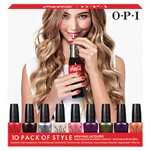 Buy OPI Nails - Nail Lacquer - Coca-Cola Collection Mini Pack, 10 x 3.75ml Online at johnlewis.com