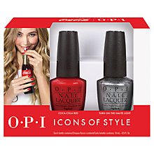 Buy OPI Nails - Nail Lacquer - Coca-Cola Collection Duo Set, 2 x 15ml Online at johnlewis.com