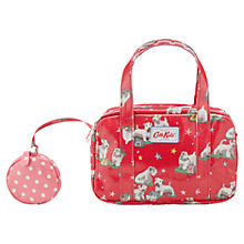 Buy Cath Kidston Girls' Billi Mini Zip Bag, Red Online at johnlewis.com