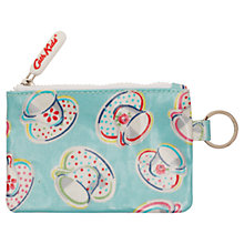 Buy Cath Kidston Girls' Teatime Pocket Purse with Keyring, Turquoise/Multi Online at johnlewis.com