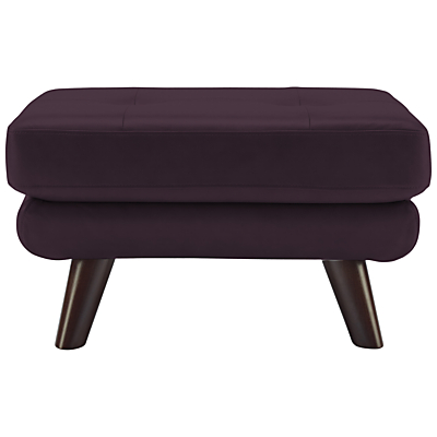 G Plan Vintage The Fifty Three Leather Footstool