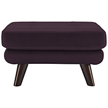 Buy G Plan Vintage The Fifty Three Leather Footstool Online at johnlewis.com