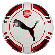 Buy Puma Arsenal Football, Size 5, White/Red Online at johnlewis.com