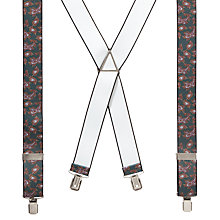 Buy John Lewis Paisley Braces, Green Online at johnlewis.com