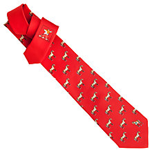 Buy Thomas Pink Horse And Carrot Printed Tie, Red Online at johnlewis.com