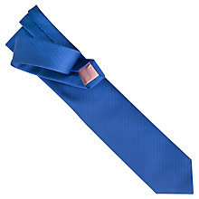 Buy Thomas Pink Tansey Herringbone Tie, Blue Online at johnlewis.com