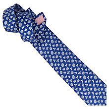 Buy Thomas Pink Dulverton Flower Woven Tie Online at johnlewis.com