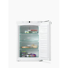 Buy Miele F32202 Integrated Freezer, A++ Energy Rating, 56-57cm Wide Online at johnlewis.com