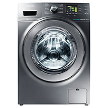 Buy Samsung WD806U4SAGD Washer Dryer, 8kg Wash / 5kg Dry Load, A Energy Rating, 1400rpm Spin, Graphite Online at johnlewis.com