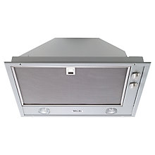 Buy Miele DA2050 Integrated Cooker Hood, Silver Online at johnlewis.com