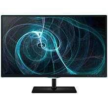 "Buy Samsung S27D390HS Series 3 LED PC Monitor, 27"", Black Online at johnlewis.com"