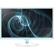 "Buy Samsung S24D391HL Series 3 LED PC Monitor, 23.6"", White Online at johnlewis.com"