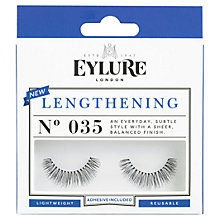 Buy Eylure Lengthening 035 False Eyelashes Online at johnlewis.com