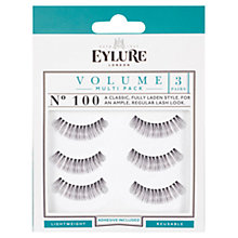 Buy Eylure Volume Multipack False Eyelashes, Black Online at johnlewis.com