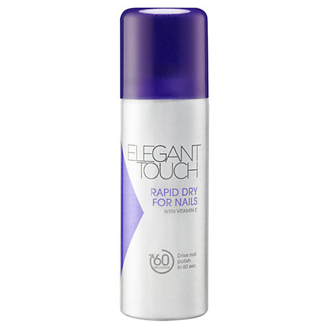 Buy Elegant Touch Rapid Dry Nail Spray, 125ml Online at johnlewis.com