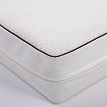 Buy John Lewis Spring Cot Mattress, 120 x 60cm & Mattress Protector Set Online at johnlewis.com
