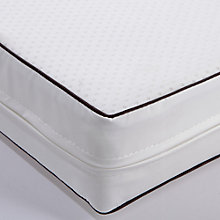 Buy John Lewis Dual Purpose Pocket Spring Cotbed Mattress, 132 x 77cm Online at johnlewis.com