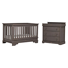 Buy Boori Eton Cotbed & Dresser, Mocha Online at johnlewis.com